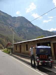 A mototaxi to Gocta