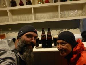 Cheeky Birthday Beer. Peruvian dark beer is sweet like chocolate. Amazing!