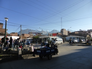 The town of Huaraz