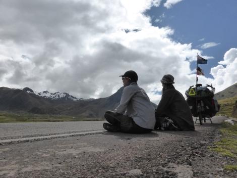Bremma snowy peaks Peru