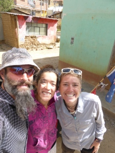 Our host and new friend Jenny in Huaraz.