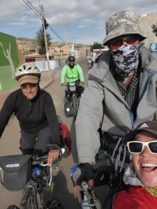 Riding with the Brits from Puno to La Paz