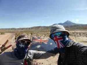 Aussie Day in the desert