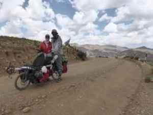 Bremma - top of Bolivia hill climb