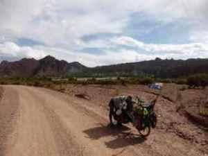 Em hugging Falkor- Bolivia