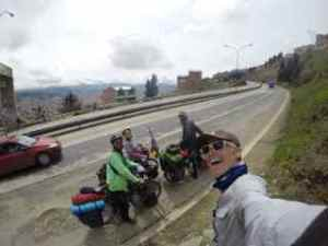 Leaving La Paz as a team
