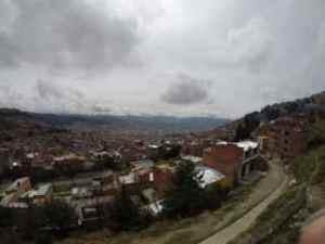 City of La Paz from El Alto