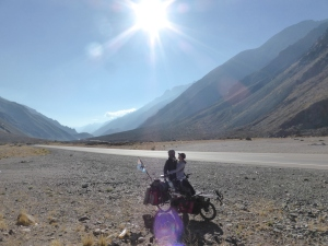 Final days riding to the Chilean border. Stunning scenery