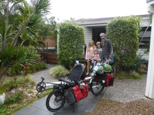 East Sunday, loaded and ready to ride from Noosa