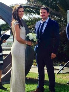 The stunning couple; Leah & Sean