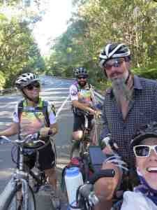 A test ride north 70km to Murwullambah to meet up with old pals Jen & Derek. So fantastic to meet up with them on their bikes on the road.