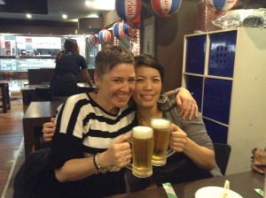 A night at a Sydney Izakaya with my mate Tokyo, Junko and her hubby
