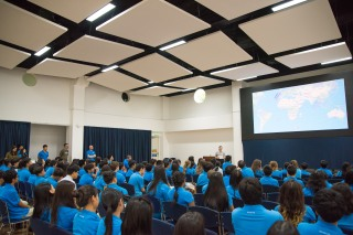 Presenting at Harrow International School Bangkok