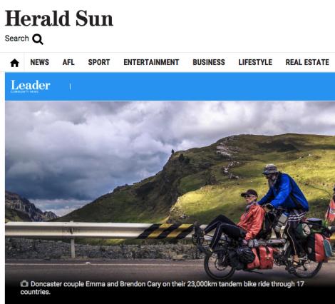 Herald Sun story